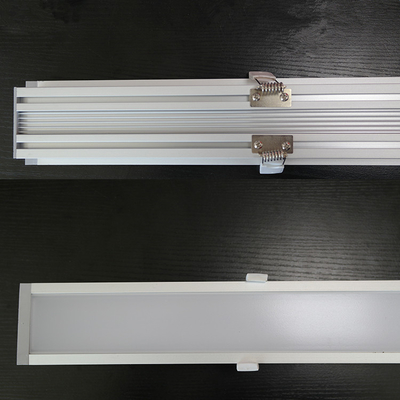 China Aluminiumunterkunftlineares Licht 40w Embeded 300/600/900mm LED für Haus distributeur
